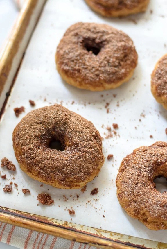 Snickerdoodle Bagels - Soft and chewy homemade bagels that taste like snickerdoodle cookies