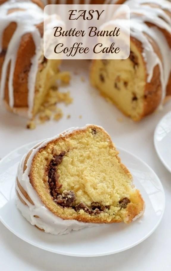 Easy Butter Bundt Coffee Cake