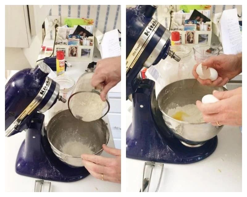Flour for ravioli dough