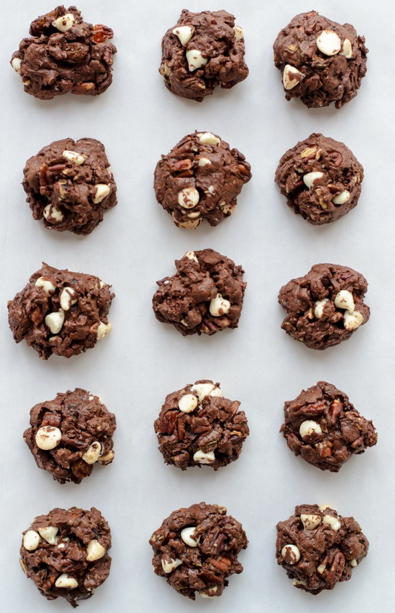Dark Chocolate Chunker Cookies