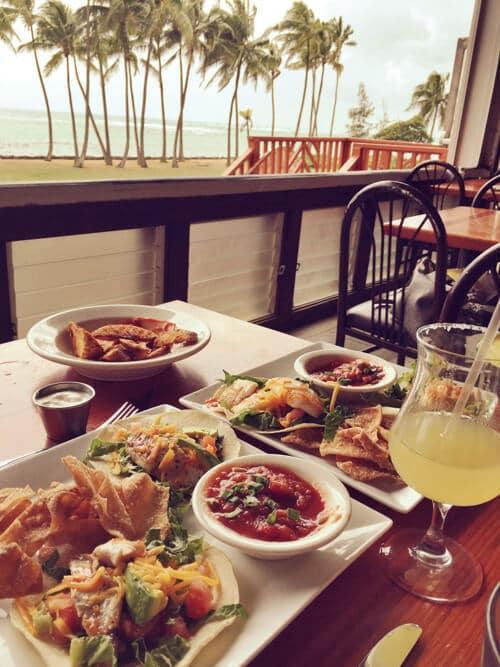 Beachwalk lunch