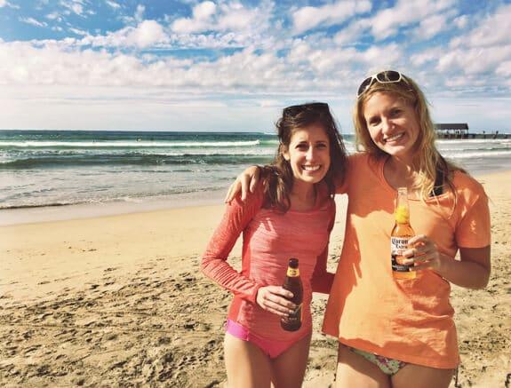 Cheers at Hanalei Bay