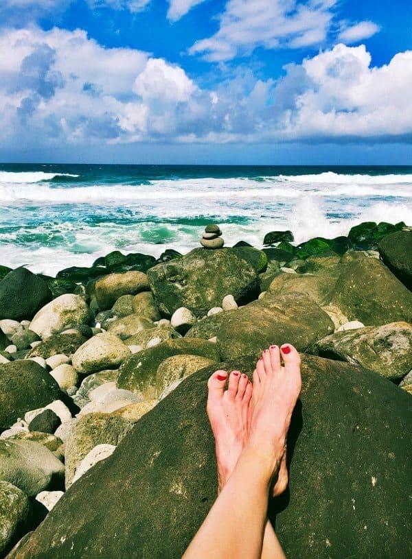 Hanakapi'ai Beach - End