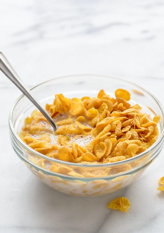 How to Pour Cereal-April Fool's Day Recipe