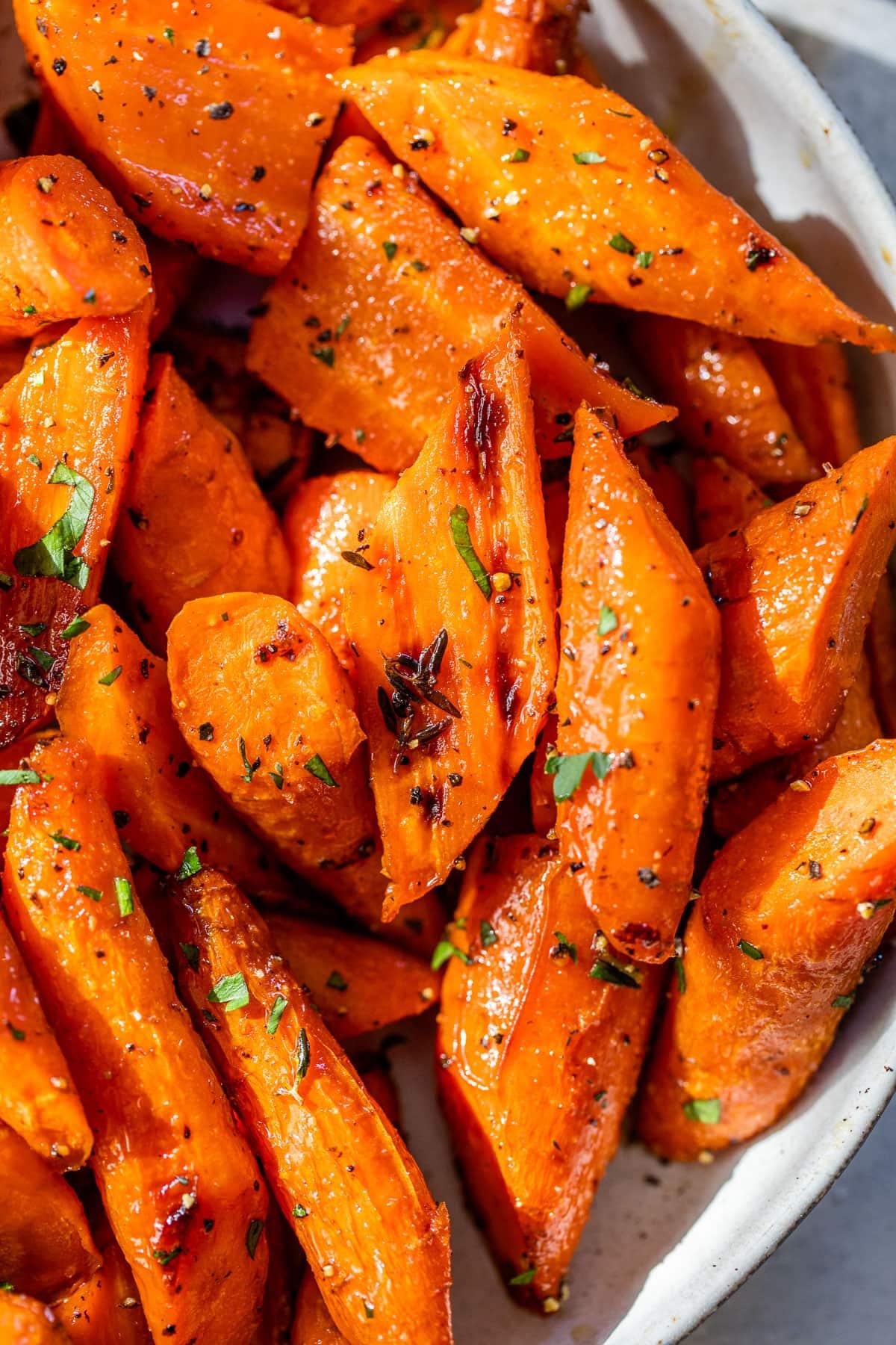 Tahini and Cumin Roasted Carrots