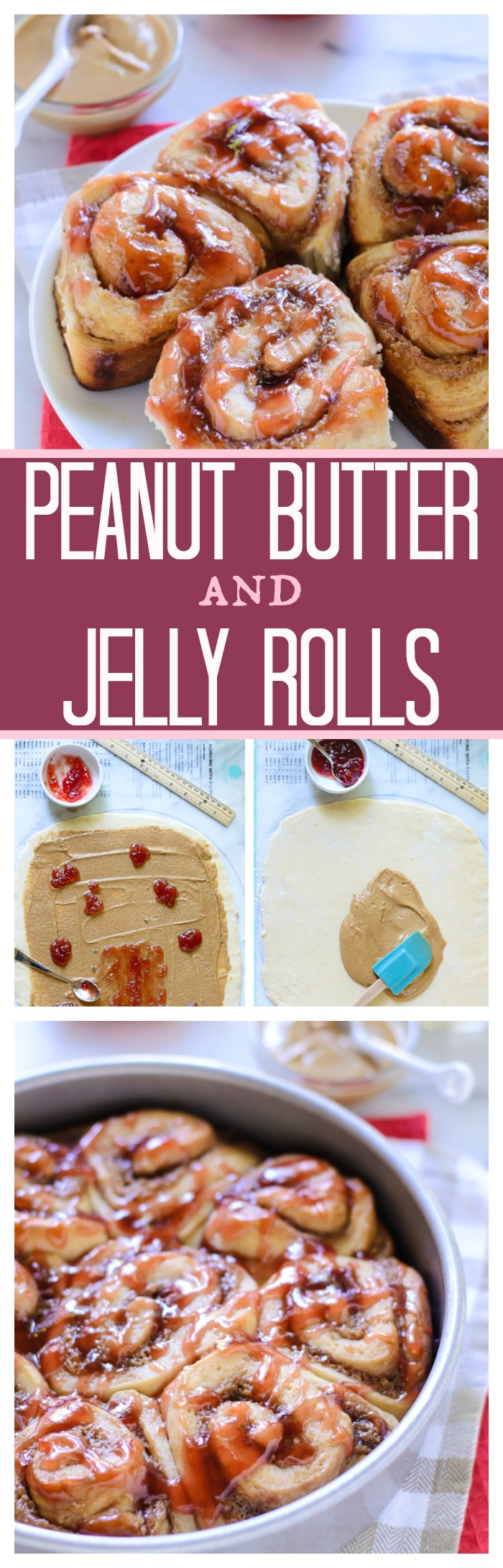 Peanut Butter and Jelly Rolls // Well-Plated