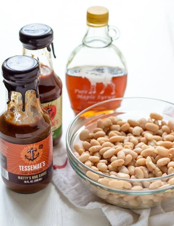 Don't have hours to make baked beans? Make this easy baked beans recipe instead!