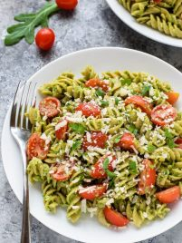 Super Food Avocado Pesto Pasta