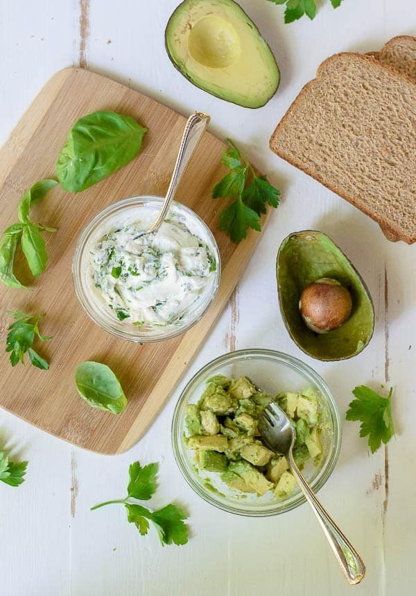 Avocado Grilled Cheese Sandwich with Goat Cheese