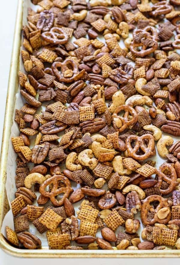 Sweet Spicy Healthy Chex Mex