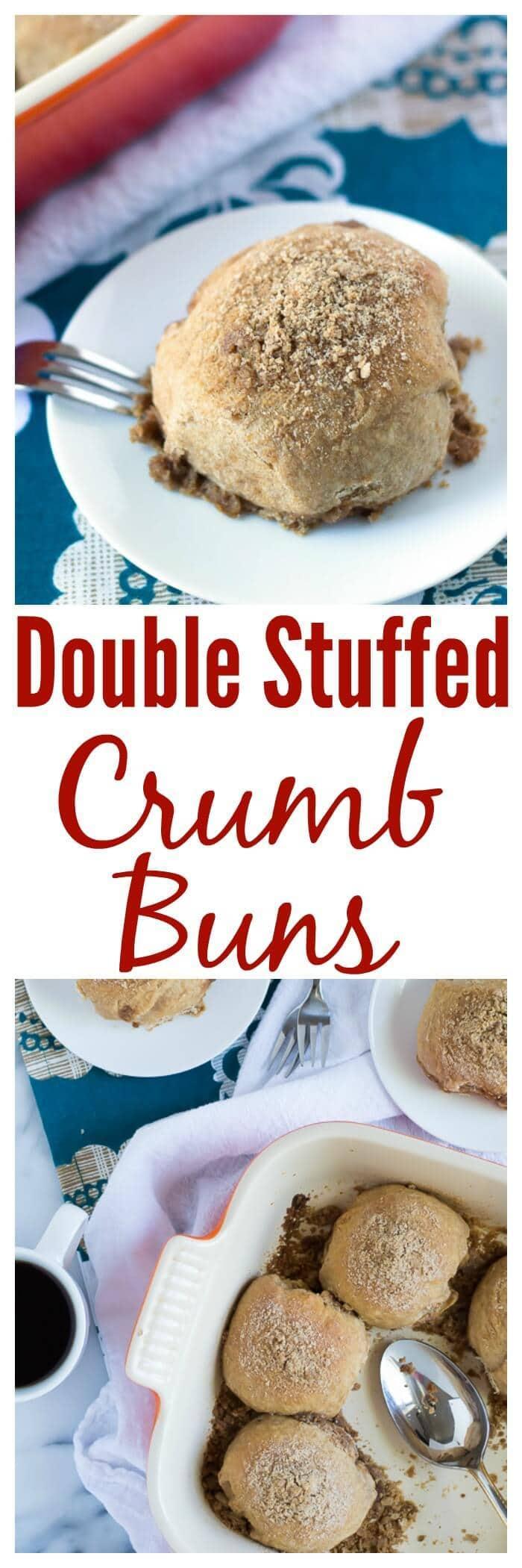 Double Stuffed Crumb Buns