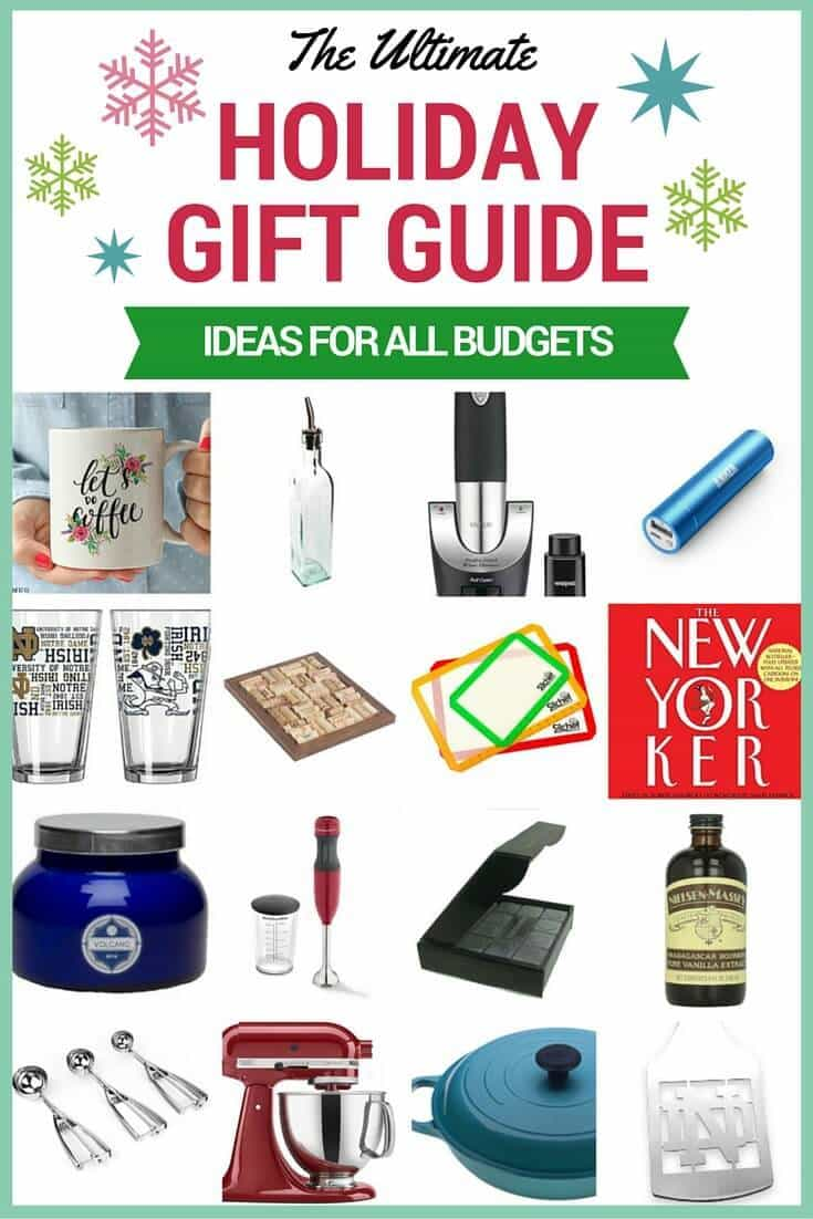 The BEST holiday and Christmas gift ideas for everyone on your list! Includes cheap gifts, gifts for guys, secret santa gifts, gifts for girls, and more!
