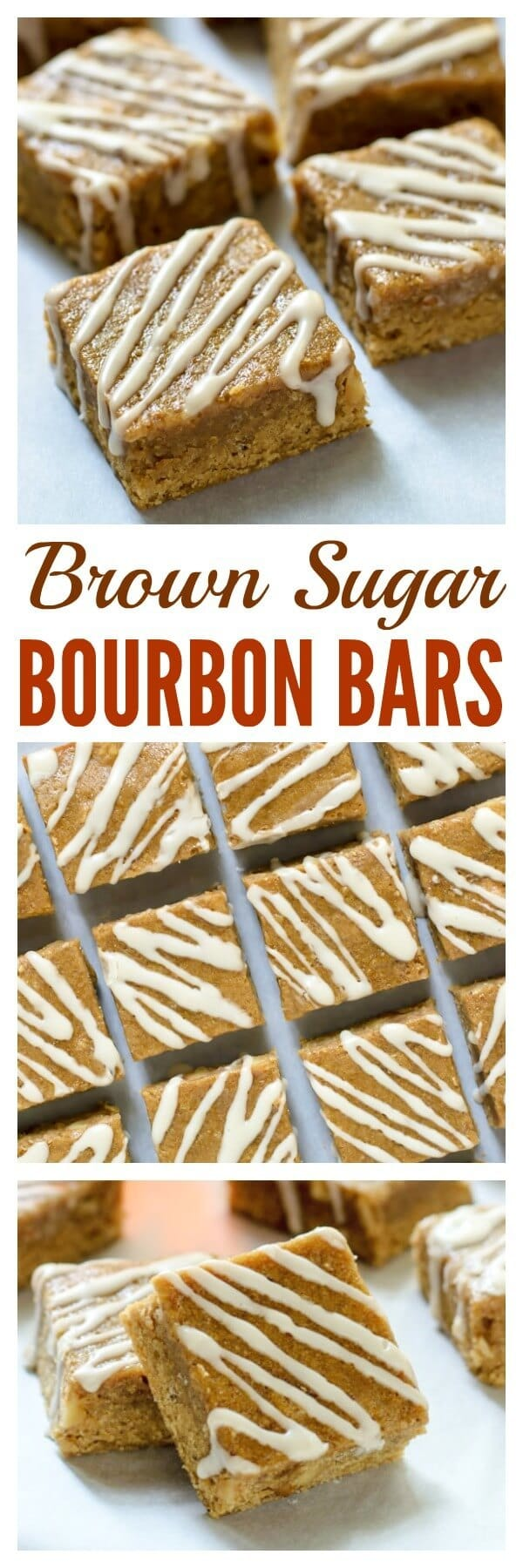 Maple Brown Sugar Bourbon Bars. If you like blondies, you will go crazy for these buttery, melt-in-your mouth bars.