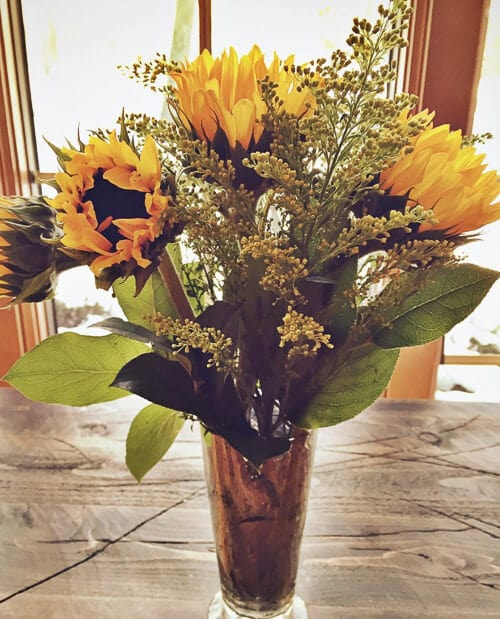 Things to be thankful for when you count your blessings: Sunflowers