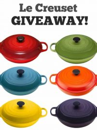 Enter to win this giveaway for a gorgeous Le Creuset braiser! A $360 value!