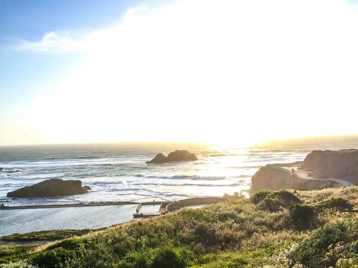 Best activities in San Francisco: Visit Land's End for the Gorgeous view!