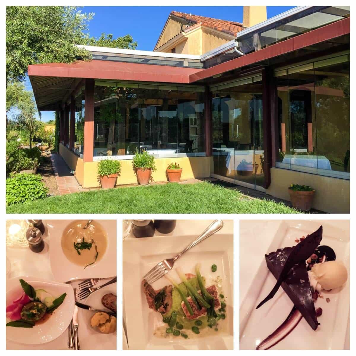 John Ash Co Sonoma Restaurant. One of the best restaurants you'll ever try!