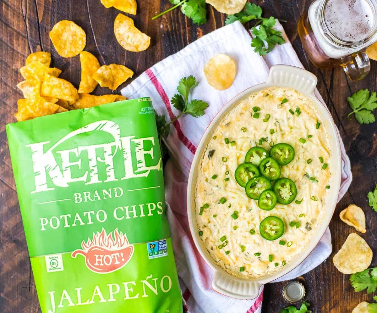 Hot Crab Dip — the perfect party appetizer recipe! @wellplated