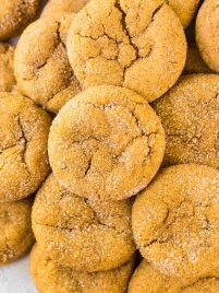 Pumpkin Snickerdoodles. Buttery soft, chewy, and DELICIOUS! The perfect pumpkin cookie recipe. @wellplated