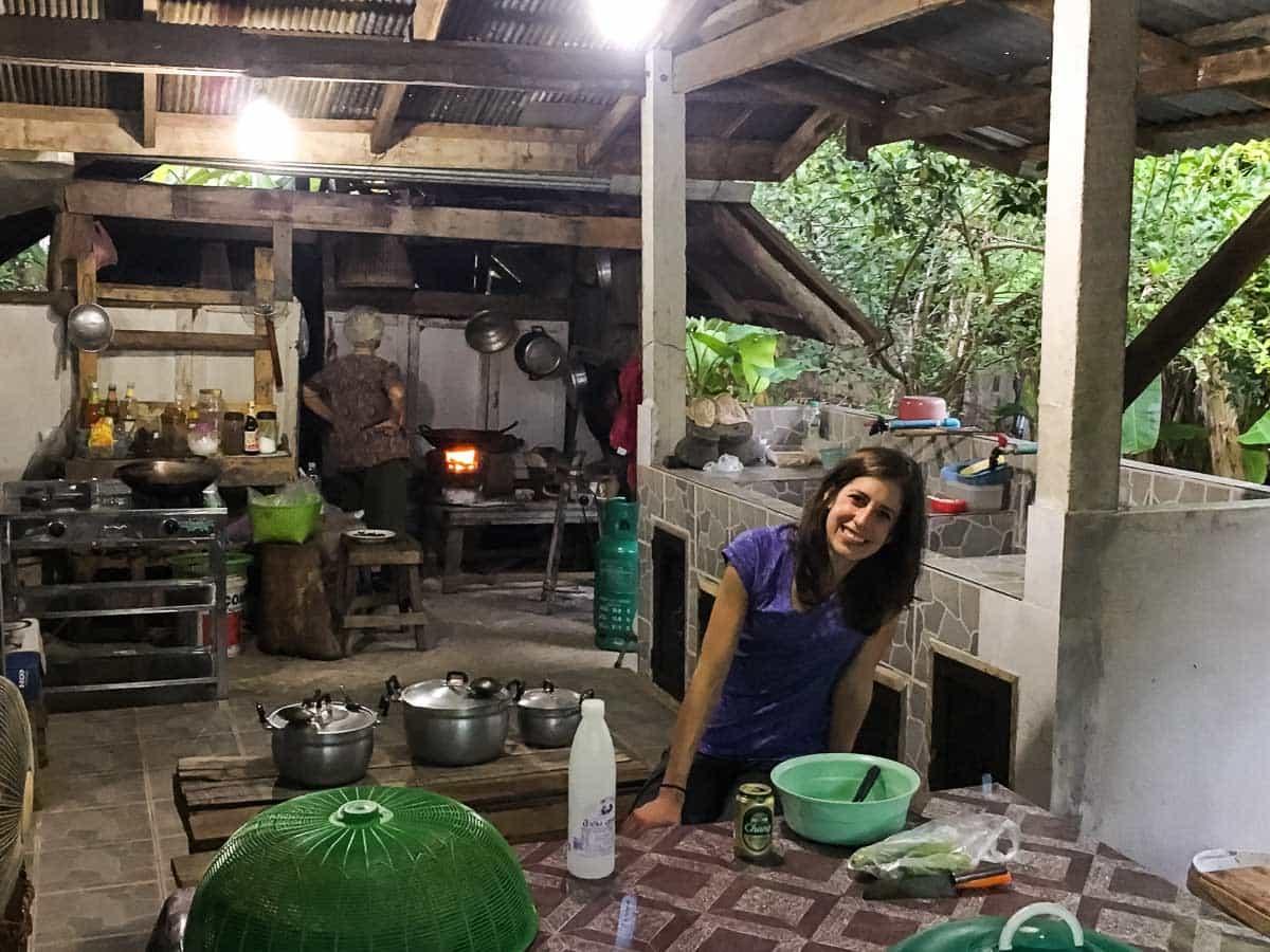 Thailand village homestay