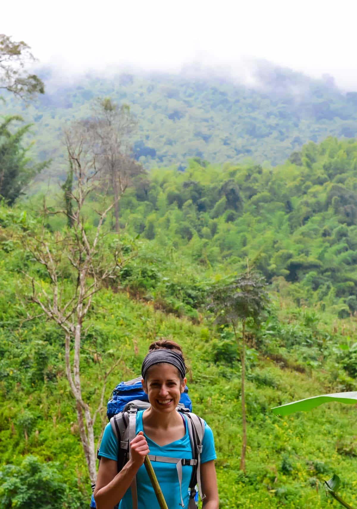 Northern Thailand hiking trail