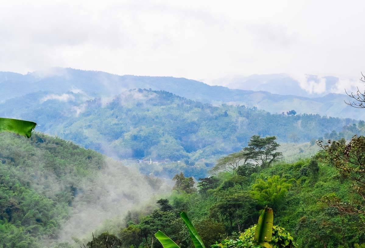 Breathtaking mountain scenery in northern Thailand