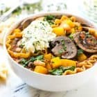 Slow Cooker Vegetarian Lasagna Soup