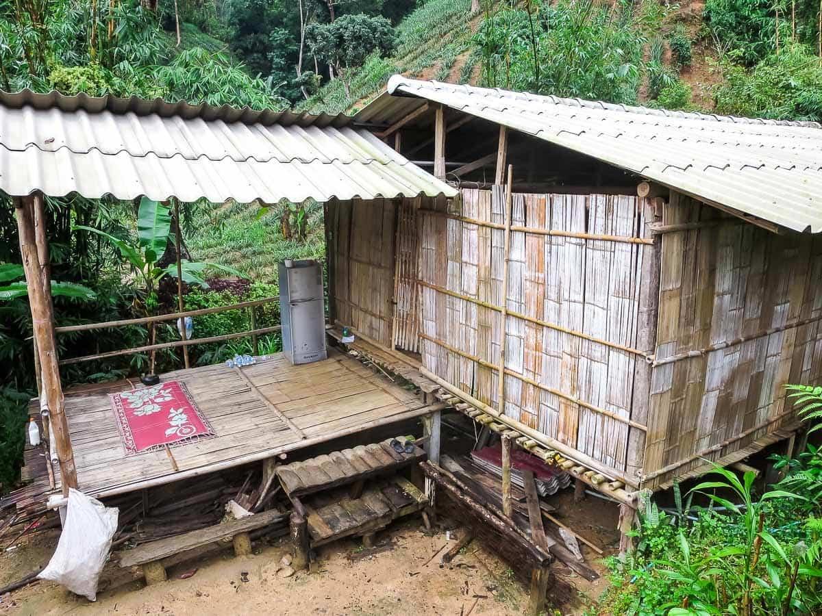 Hiking in Thailand — Hilltribe village
