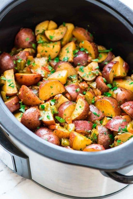 Crockpot Breakfast Potatoes