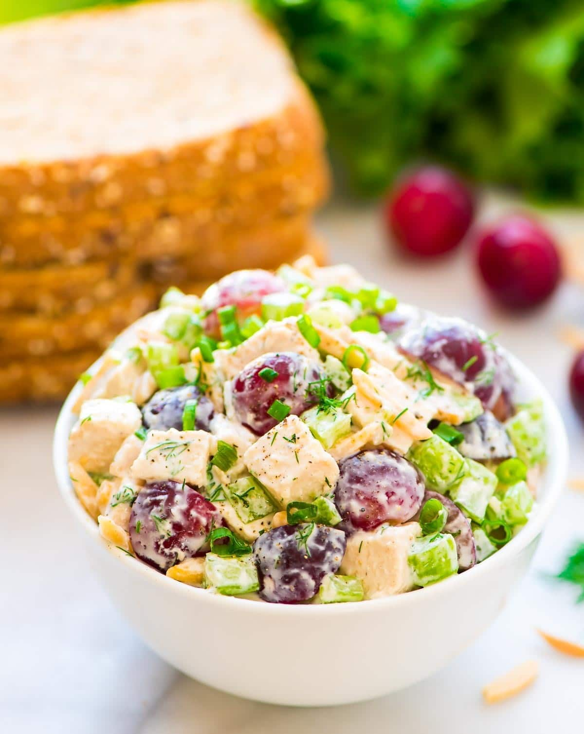 Greek Yogurt Chicken Salad with Dill