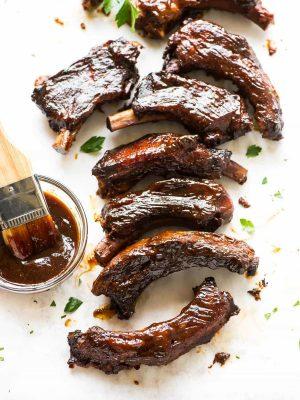 pork ribs made in a crockpot