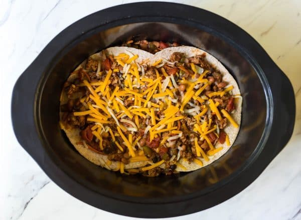 Taco Casserole Healthy Slow Cooker Recipe Well Plated By Erin