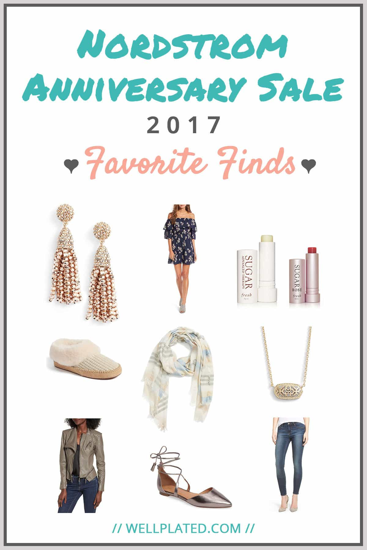 Best of the Nordstrom Anniversary Sale 2017. Great deals on the hottest styles, from women's dresses to jeans to beauty products. Recipe at wellplated.com | @wellplated