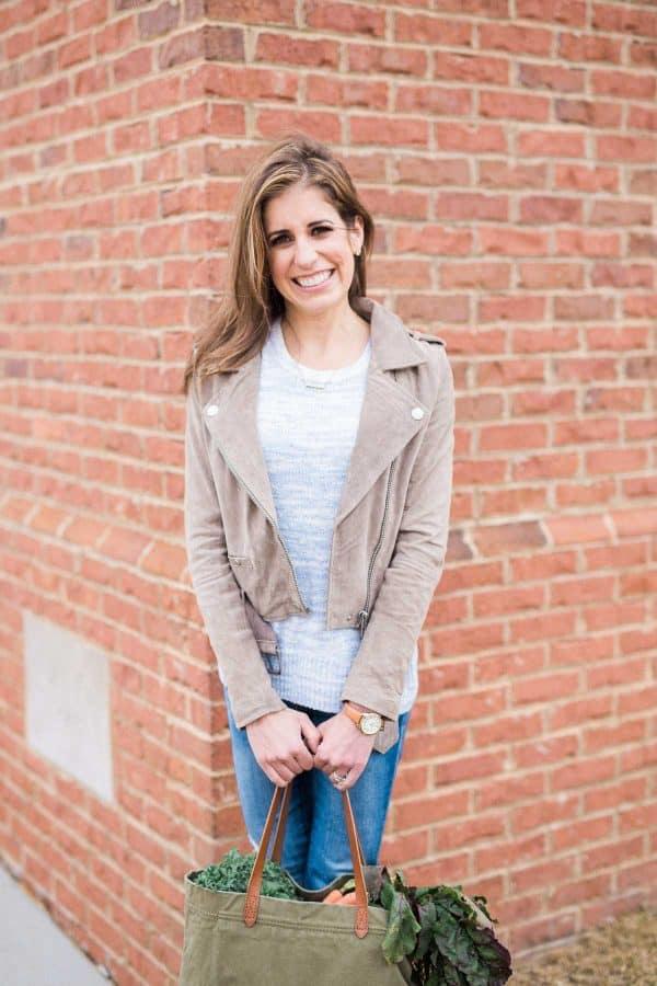Healthy food blogger Erin Clarke
