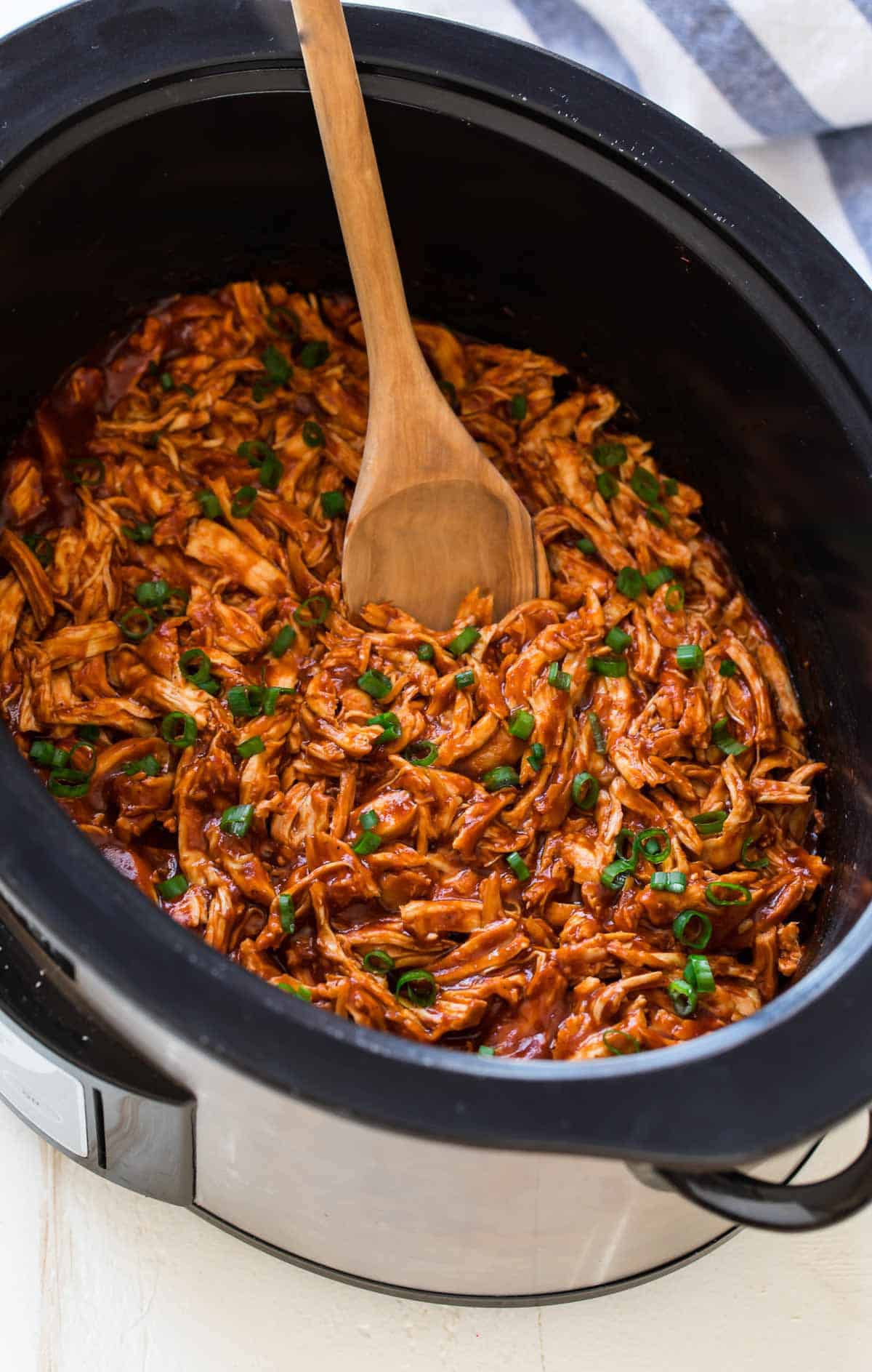 Crockpot Bbq Chicken Tender Easy Crockpot Chicken Recipe