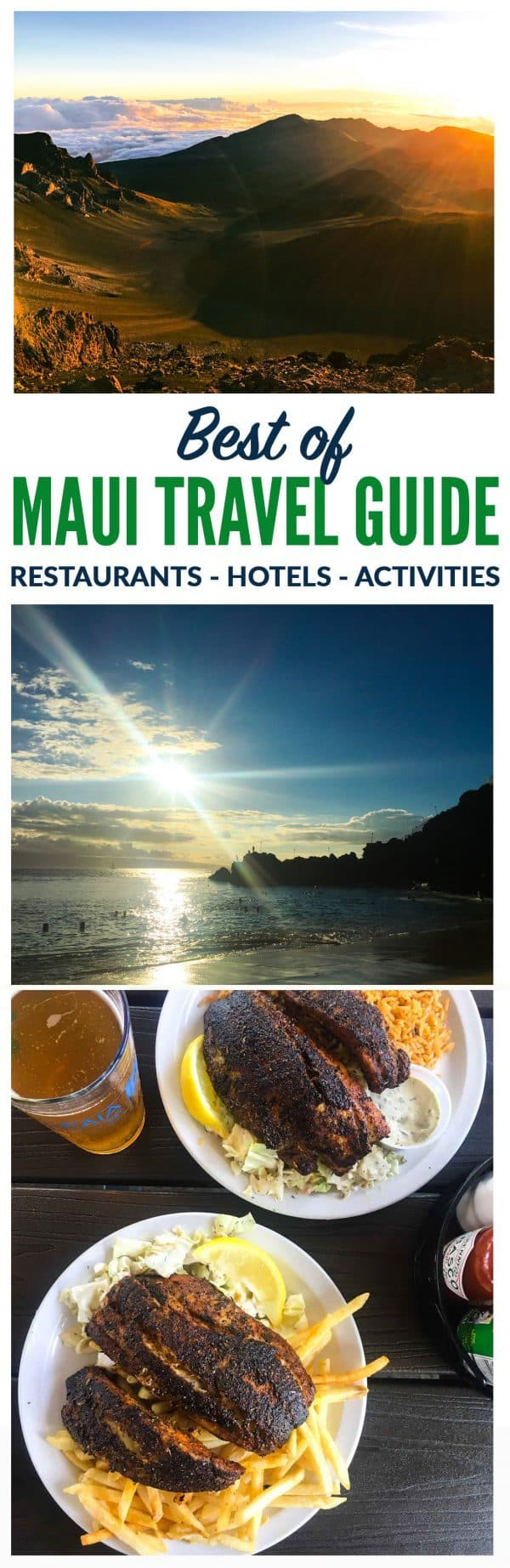 What to See, Do and Eat in Maui. Things to do, beaches, and best restaurants. This is the Ultimate Maui Travel Guide! Everything you need to know to plan the perfect trip. Includes a four day Maui itinerary with all of the top Maui sites and Maui restaurants. #maui #hawaii #travel