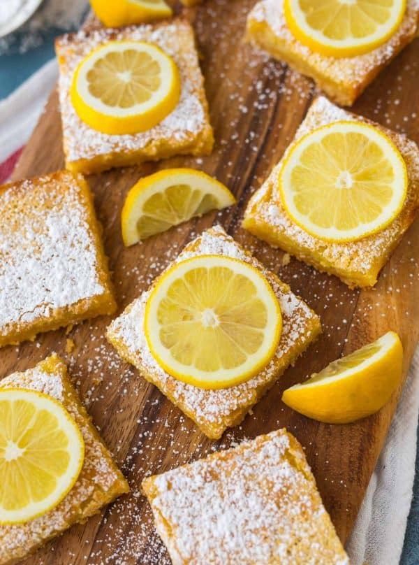A few tweaks to the Betty Crocker lemon bars recipe makes this lemon bars recipe even easier and more delicious!
