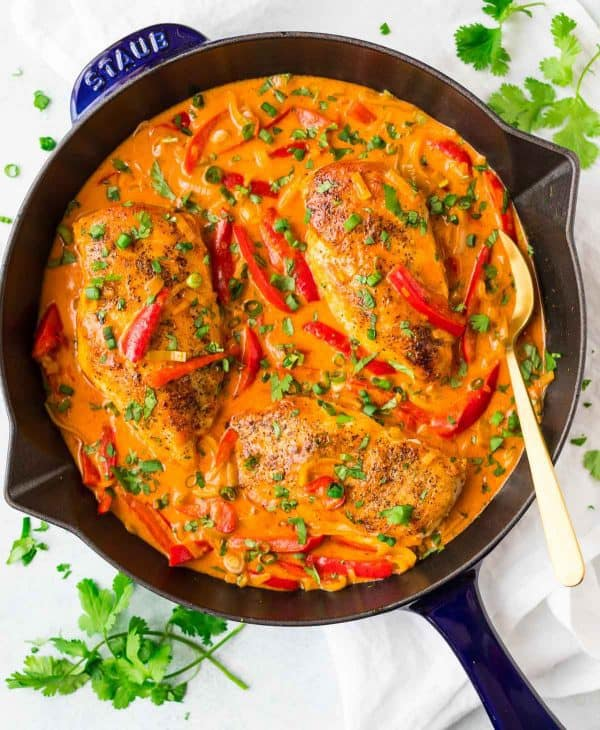 The Best Thai Red Chicken Curry