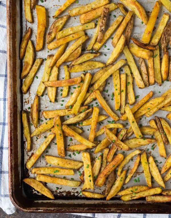 Crispy Baked Fries with Ranch Seasoning