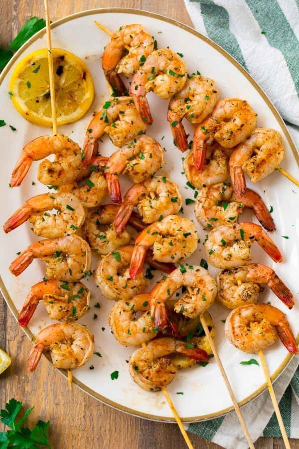 Easy 4-ingredient Grilled Shrimp Seasoning