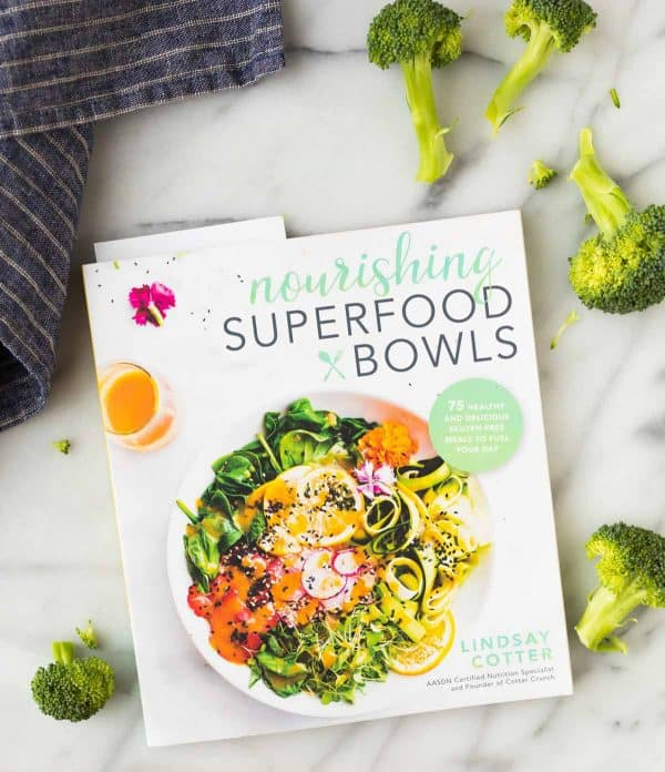 Nourishing Superfood Bowls, a cookbook by Lindsay Cotter