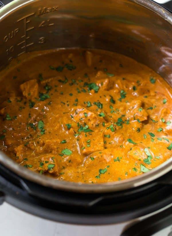Instant Pot Butter Chicken