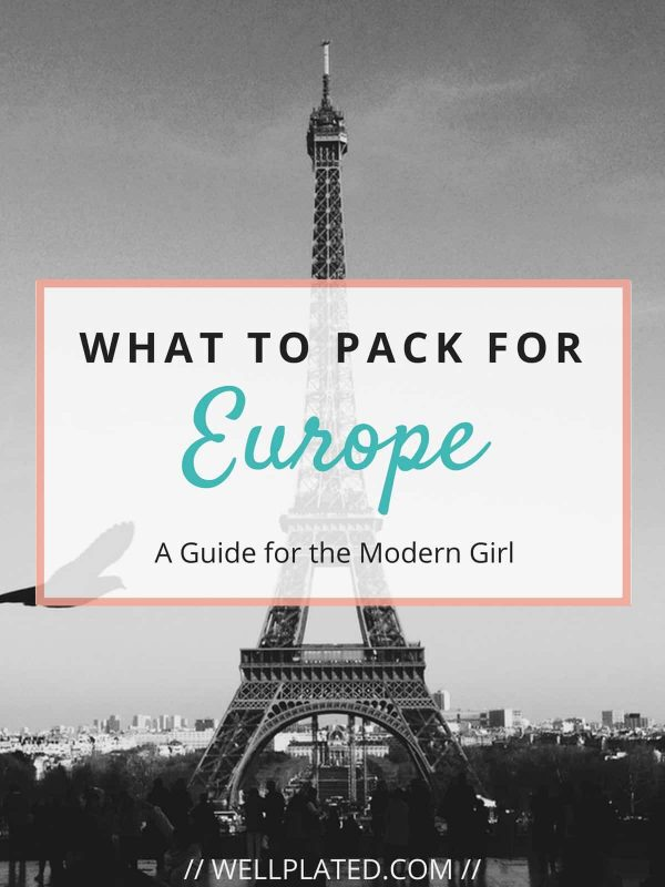 What to Pack for Europe. Must-have electronics, how to plan what to wear, what to bring on a long plane ride, and more! Whether you are wondering what to pack for a 10 day Europe trip or a 2 week Europe trip, this guide has everything you need to know.