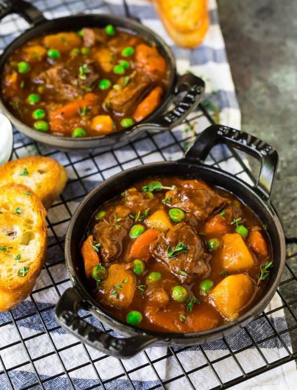 Healthy Instant Pot Beef Stew. Easy comfort food.