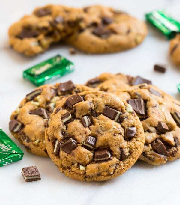 Andes Mint Cookies Easy Recipe With Andes Mints