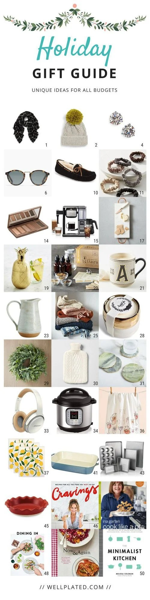 Unique Holiday Gift Ideas for Women! The best Christmas gifts for mom, girls, coworkers, and best friends. Includes stocking stuffers and ideas for all budgets from cheap to higher end.