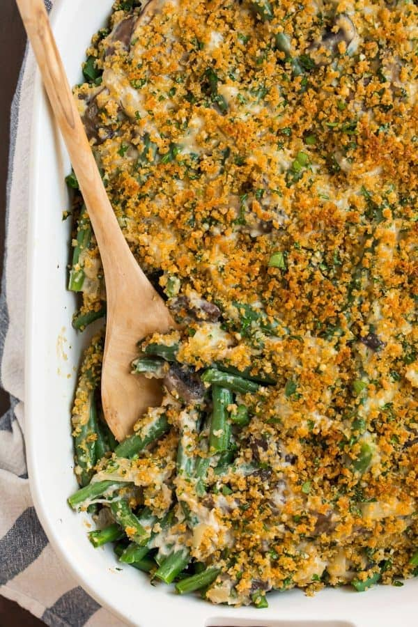 Healthy Green Bean Casserole | Well Plated by Erin