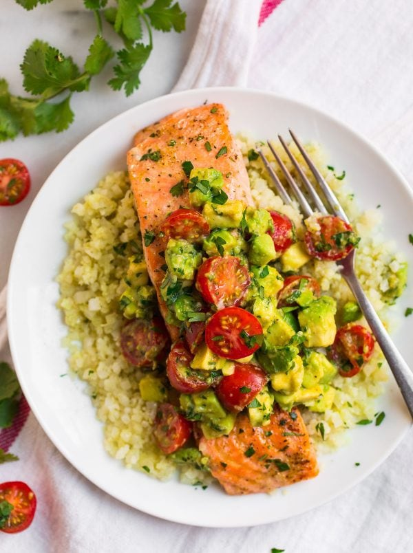 Baked Salmon is the perfect weeknight dinner! This is a healthy and Whole30 recipe.