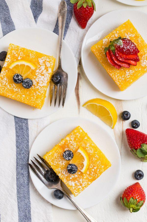 PERFECT Lemon Poke Cake. Original recipe!! Moist, easy, and bursting with lemon flavor, this old fashioned lemon jello cake uses Betty Crocker cake mix, real lemon juice, and lemon jello for triple the lemon burst flavor!