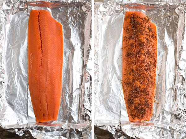 Easy Spicy Baked Salmon. Flaky, tender, and quick for weeknights.